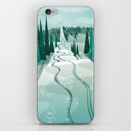 Winter Slope iPhone Skin
