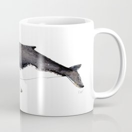 North Atlantic Humpback whale Coffee Mug