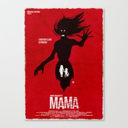 Mama (Red Collection) Canvas Print
