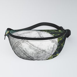 Volleyball art print work 2 Fanny Pack