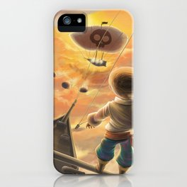 Sky pirate iPhone Case