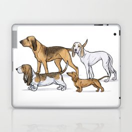 Nosy Scenthounds Laptop & iPad Skin