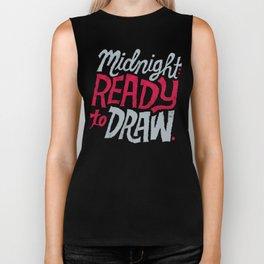 Midnight: Ready to Draw Biker Tank