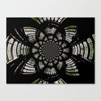 fractal Canvas Prints featuring Fractal by Aaron Carberry