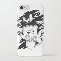 sons of anarchy iPhone & iPod Cases featuring Sons of Anarchy - Hand by Christiano Mere