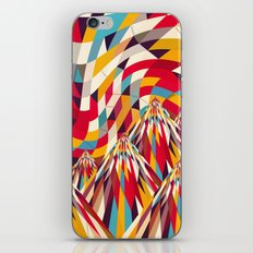 Colorful Mountains iPhone & iPod Skin