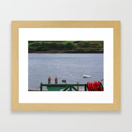 Married to the Sea Framed Art Print