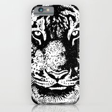 Stare tiger head iPhone 6 Slim Case