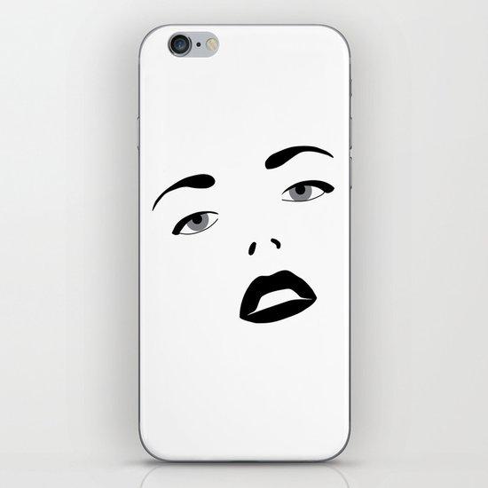 Glamour Girl iPhone & iPod Skin