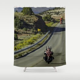 The Patriot Shower Curtain