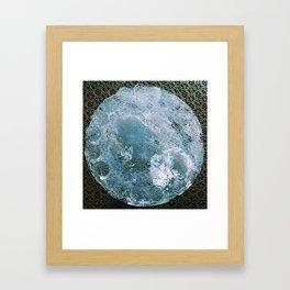 Full Wolf Moon Framed Art Print