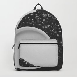 Black and White Coffee Backpack