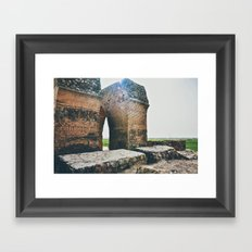 The Sun Was Always There Framed Art Print