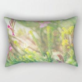 Where the Fairies Play - Botanical Photography #Society6 Rectangular Pillow