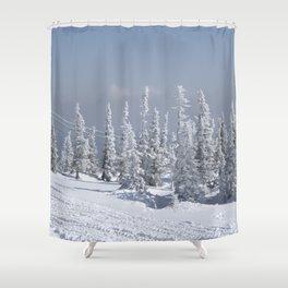 Winter season Shower Curtain
