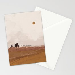 There Is No Need To Rush Stationery Cards