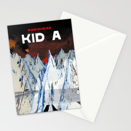 Kid A Stationery Cards