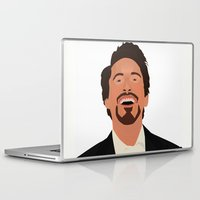 robert downey jr Laptop & iPad Skins featuring Robert Downey Jr. by Kaylabeaisaflea