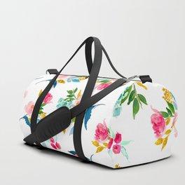 floral pattern 1 Duffle Bag