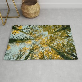 Under the trees Rug
