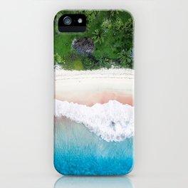 Aerial Tropical Beach iPhone Case
