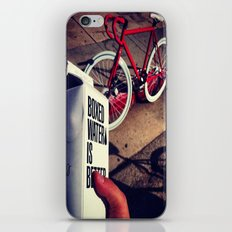 Thirsty? iPhone & iPod Skin