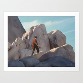 The Tracker Art Print