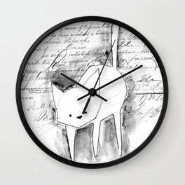 minima - deco cat Wall Clock