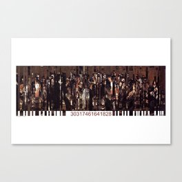 Barcode 13. Canvas Print