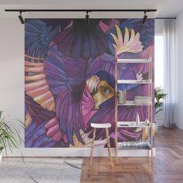 A Murder of Ravens Wall Mural