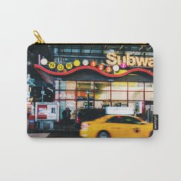Subway, Times Square, Manhattan, NYC Carry-All Pouch