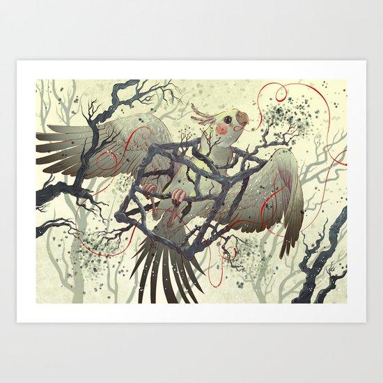 Artificial Habitat Art Print