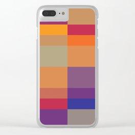 Pixel 03 Clear iPhone Case