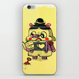 To be real iPhone Skin