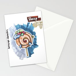 Sheep Horoscope Stationery Cards