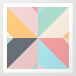 Geometric Pattern II Art Print