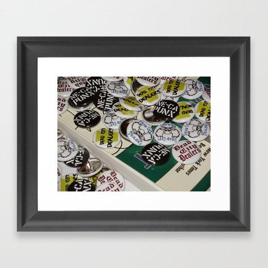 Catch-All Framed Art Print
