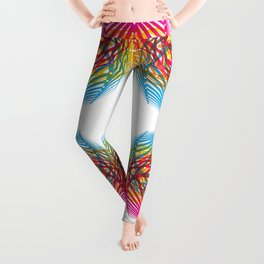 4 Corners of Abundance (wide) Leggings