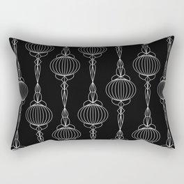 Art Deco 52 . Christmas decorations . Rectangular Pillow