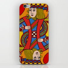 King of Hearts iPhone & iPod Skin