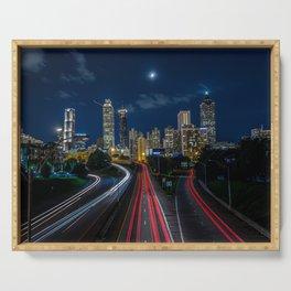 Atlanta Skyline Serving Tray