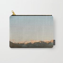 Sunset Over the Canadian Rockies Carry-All Pouch