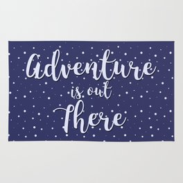 Adventure is out There Rug