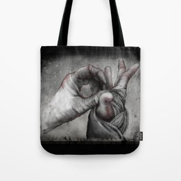 Hand Wrap Study 5 Tote Bag
