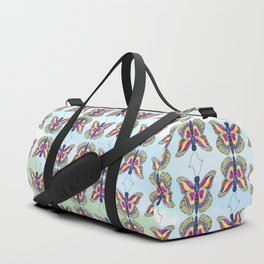 Butterfly III on a Summer Day Duffle Bag