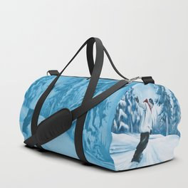 Dropping The Dream Forest Duffle Bag