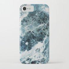 Blue Sea Marble Slim Case iPhone 7