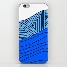 The Ocean Calls Me iPhone Skin