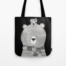 A great big bear Tote Bag