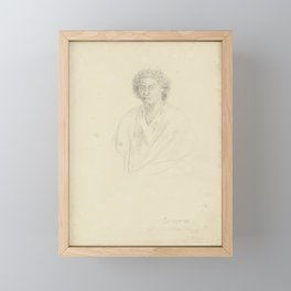 John Lewin - Po.mar.re, father to Ottoo, king of Otaheiti, 1802 Framed Mini Art Print